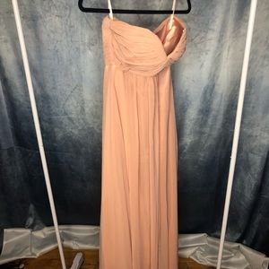 Dresses & Skirts - Strapless, Formal Dusty Rose Gown